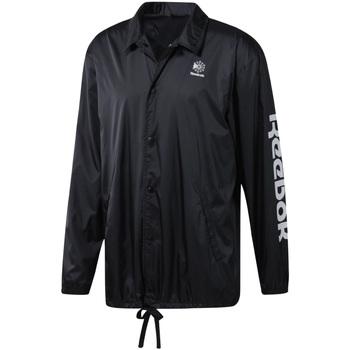 Textil Muži Větrovky Reebok Sport DT8205 Černá
