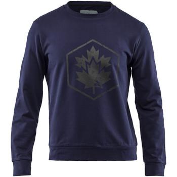 Textil Muži Mikiny Lumberjack CM60142 001 502 Modrý