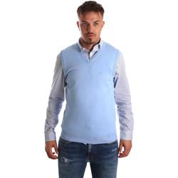 Textil Muži Svetry / Svetry se zapínáním Navigare NV00165 21 Modrý