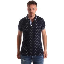 Textil Muži Polo s krátkými rukávy Navigare NV82099 Modrý