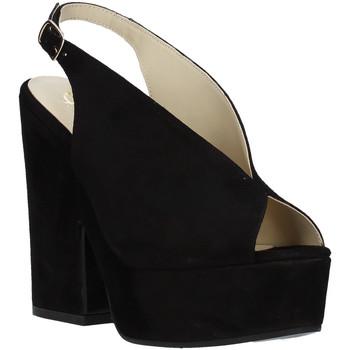 Boty Ženy Sandály Grace Shoes ALBA 107 Černá