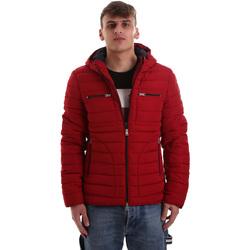 Textil Muži Prošívané bundy Gaudi 921BU35019 Červené
