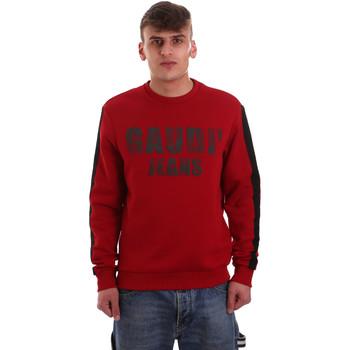 Textil Muži Mikiny Gaudi 921BU64051 Červené