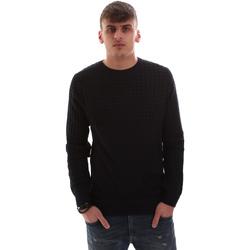 Textil Muži Svetry Antony Morato MMSW00996 YA400006 Modrý