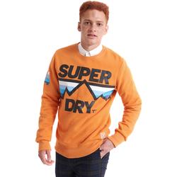 Textil Muži Mikiny Superdry M2000012B Oranžový
