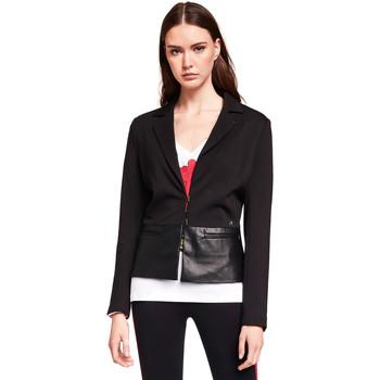 Textil Ženy Saka / Blejzry Gaudi 921BD34001 Černá