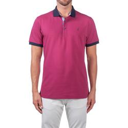 Textil Muži Polo s krátkými rukávy Navigare NV82124 Fialový