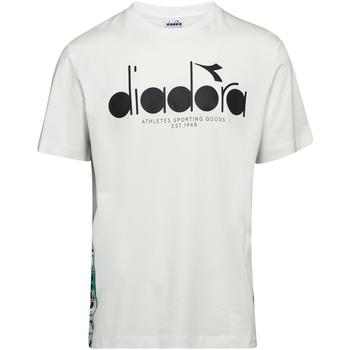 Textil Muži Trička s krátkým rukávem Diadora 502176630 Béžový