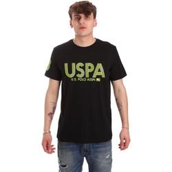 Textil Muži Trička s krátkým rukávem U.S Polo Assn. 57197 49351 Černá