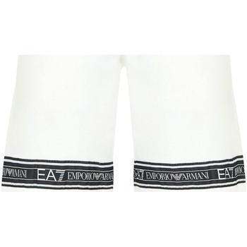 Textil Muži Plavky / Kraťasy Ea7 Emporio Armani 3HPS56 PJ05Z Bílý