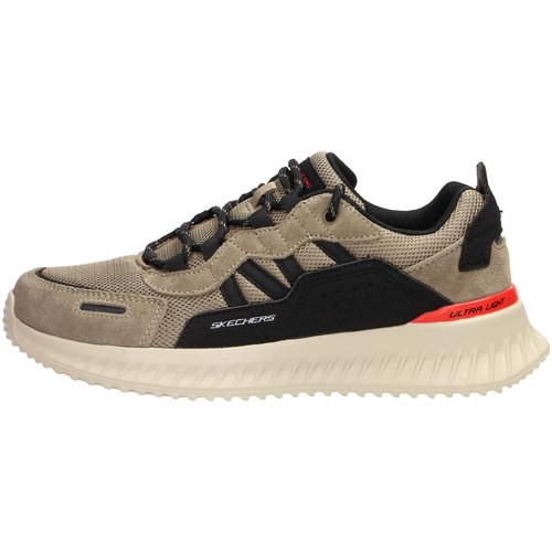 Boty Muži Nízké tenisky Skechers 232011 Béžový