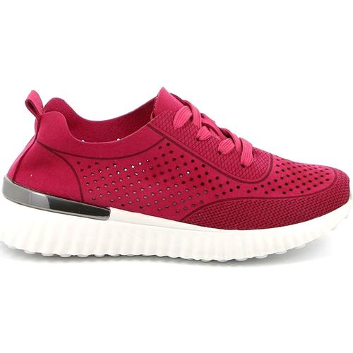 Boty Ženy Nízké tenisky Grunland SC4906 Růžový