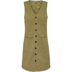 Textil Ženy Krátké šaty Tommy Jeans DW0DW07750 Zelený