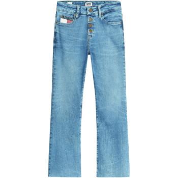 Textil Ženy Rifle bootcut Tommy Jeans DW0DW08134 Modrý