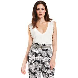 Textil Ženy Halenky / Blůzy Gaudi 011FD64008 Bílý