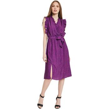 Textil Ženy Společenské šaty Gaudi 011BD15004 Fialový