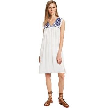 Textil Ženy Krátké šaty Gaudi 011BD15007 Béžový