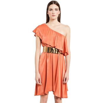Textil Ženy Krátké šaty Denny Rose 011ND15020 Oranžový