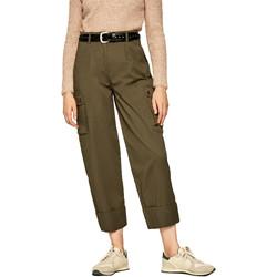 Textil Ženy Cargo trousers  Pepe jeans PL211354 Zelený