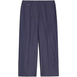 Textil Ženy Tříčtvrteční kalhoty NeroGiardini E060151D Modrý