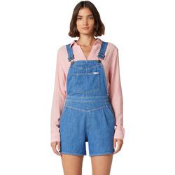 Textil Ženy Overaly / Kalhoty s laclem Wrangler W22FJS72L Modrý