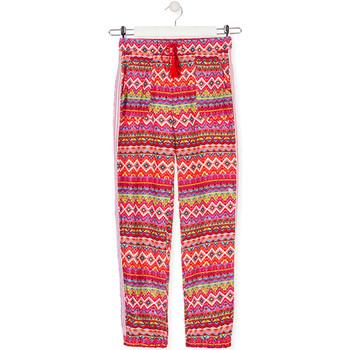 Textil Děti Turecké kalhoty / Harémky Losan 014-9014AL Červené