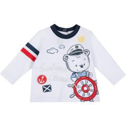Textil Děti Trička s dlouhými rukávy Chicco 09006877000000 Bílý
