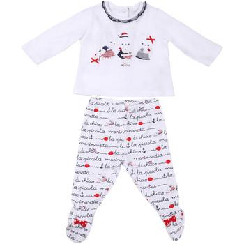 Textil Děti Set Chicco 09076457000000 Bílý