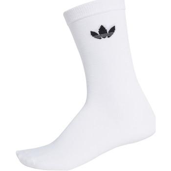 Spodní prádlo  Ponožky adidas Originals DV1728 Bílý