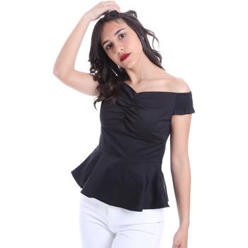 Textil Ženy Halenky / Blůzy Gaudi 011FD45054 Černá