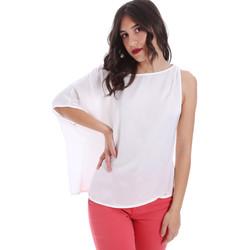 Textil Ženy Halenky / Blůzy Gaudi 011FD45057 Bílý