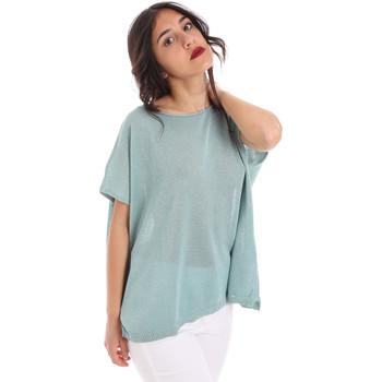 Textil Ženy Halenky / Blůzy Gaudi 011FD53011 Modrý