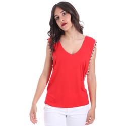 Textil Ženy Halenky / Blůzy Gaudi 011FD64008 Červené