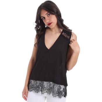 Textil Ženy Halenky / Blůzy Gaudi 011FD45055 Černá
