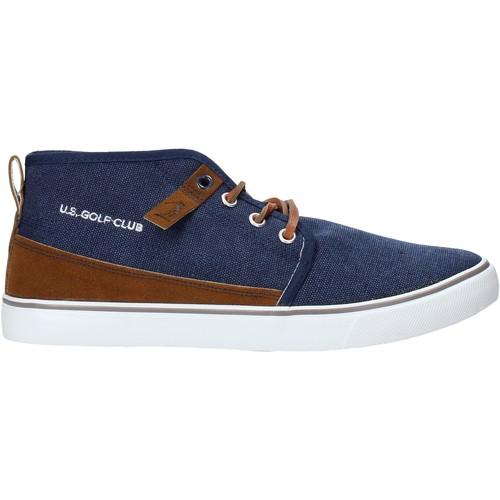Boty Muži Kotníkové boty U.s. Golf S20-SUS112 Modrý