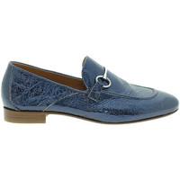Boty Ženy Mokasíny Mally 6105 Modrý