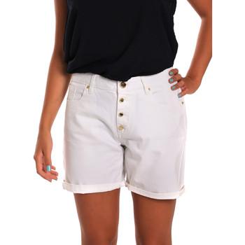 Textil Ženy Kraťasy / Bermudy Gaudi 811BD25015 Bílý
