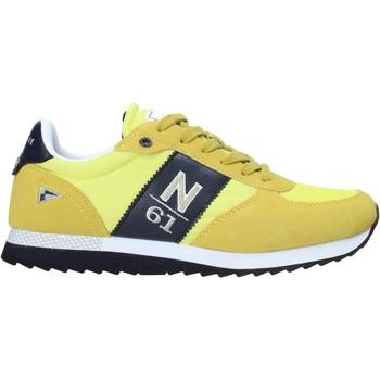 Boty Muži Nízké tenisky Navigare NAM013550 Žlutá