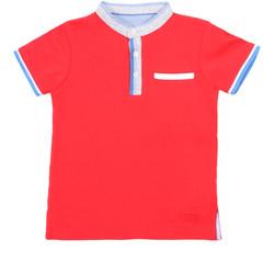 Textil Děti Polo s krátkými rukávy Losan 015-1791AL Červené