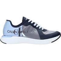 Boty Muži Nízké tenisky Calvin Klein Jeans B4S0649 Modrý