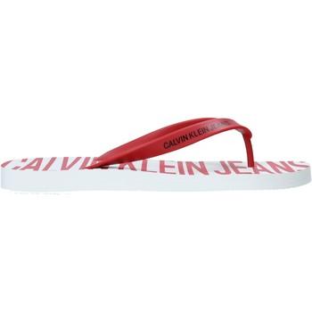 Boty Muži Žabky Calvin Klein Jeans B4S0676 Červené