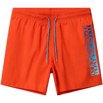 Textil Muži Plavky / Kraťasy Napapijri NP0A4E1J Oranžový