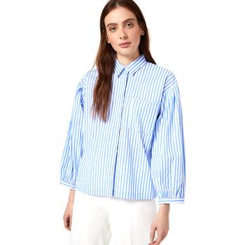 Textil Ženy Košile / Halenky Liu Jo WA0421 T4169 Modrý