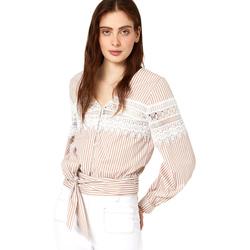 Textil Ženy Halenky / Blůzy Liu Jo FA0183 T4169 Béžový