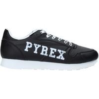 Boty Muži Nízké tenisky Pyrex PY020208 Černá