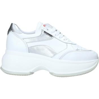 Boty Ženy Nízké tenisky Exton 1575 Bílý
