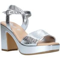 Boty Ženy Sandály Grace Shoes L220 Stříbrný