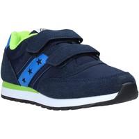 Boty Chlapecké Nízké tenisky Fred Mello S20-SFK315 Modrý
