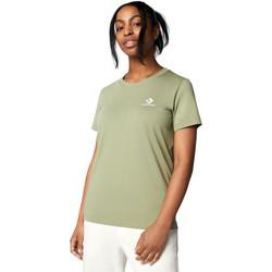 Textil Ženy Trička s krátkým rukávem Converse 10018270-A15 Zelený