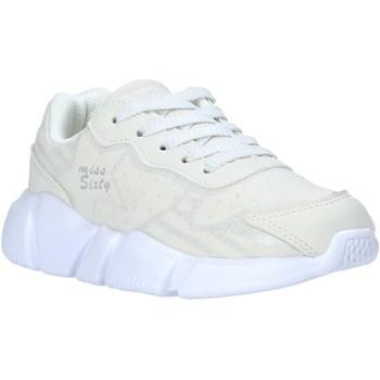 Boty Děti Nízké tenisky Miss Sixty S20-SMS737 Bílý